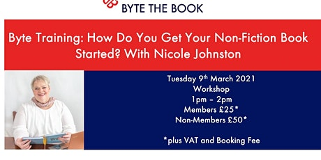 How Do You Get Your Non-Fiction Book Started? tickets