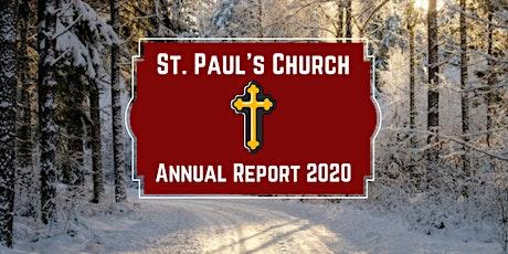 St. Paul's Church Annual Meeting billets