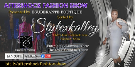 After Shock: The Virtual Experience Presented by: Esuberante Boutique tickets