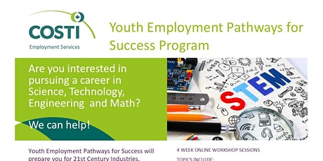 Youth Employment Pathways for Success (STEM) Information Session tickets