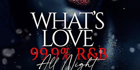 """RECESS MIAMI PRESENTS """"WHATS LOVE?""""  R&B GAME NIGHT tickets"""