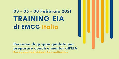TRAINING EIA 2021 biglietti