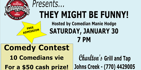 They Might Be Funny Comedy Contest tickets