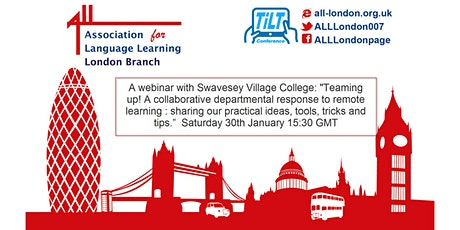 A TiLT Webinar with Swavesey Village College tickets