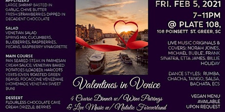 Valentines in Venice tickets