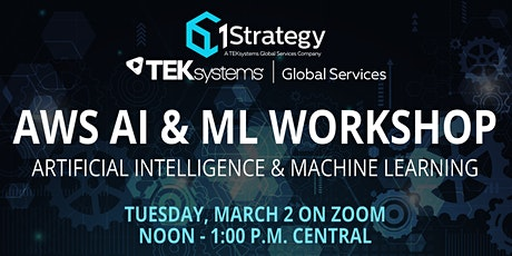 1Strategy AWS AI/ML Workshop tickets