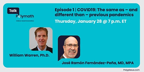 COVID19: The same as — and different than — previous pandemics tickets