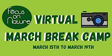 Virtual March Break Camp tickets