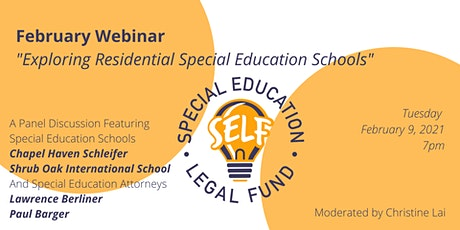 Exploring Residential Special Education Schools tickets