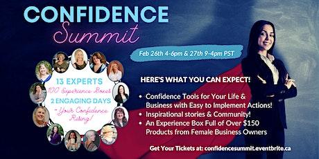 Confidence Summit tickets