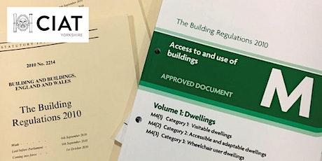 CIAT Yorkshire Online: Building Regulations Update tickets