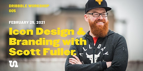 Learn Icon & Branding Design with Scott Fuller tickets