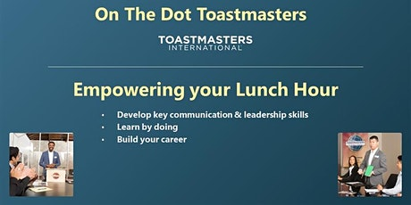 On The Dot Toastmasters Virtual Meeting tickets