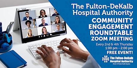 FDHA Community Engagement Roundtable Georgia's Health IT tickets