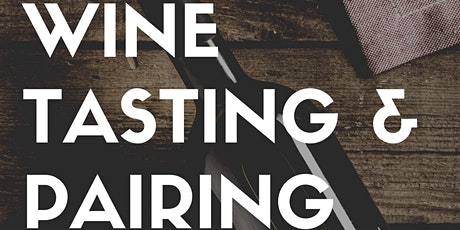 Wine Tasting Class at Southern Charred with Food Pairing tickets