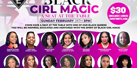 BLACK GIRL MAGIC (A Seat At The Table) tickets