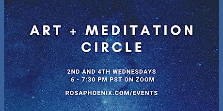 Art + Meditation Circle tickets