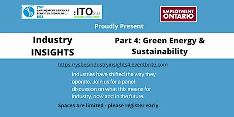 Industry Insights - Part 4 - Green Energy tickets