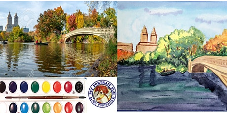 HOW TO WATERCOLOR -  A Beautiful Landscape tickets