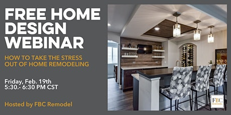 Virtual Design Event: How to Take the Stress Out of Home Remodeling tickets