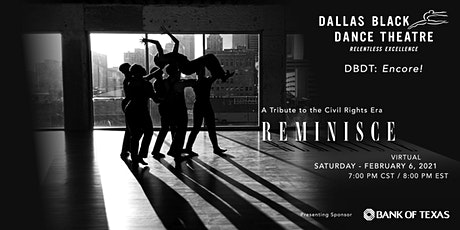 "DBDT: Encore! ""Reminisce"" tickets"