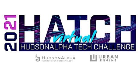 2021 HATCH | HudsonAlpha Tech Challenge entradas