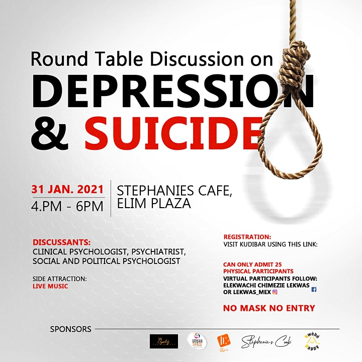 Round Table Discussion on Depression and Suicide image