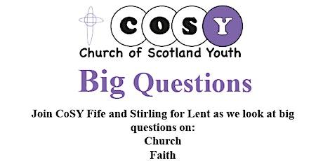 CoSY Big Questions tickets