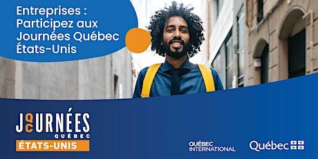 Journées Québec États-Unis billets