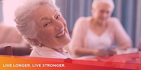 Live Longer, Live Stronger—Preventing Vision Loss tickets