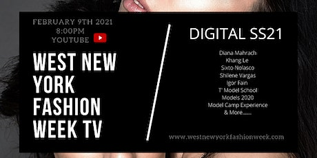 West New York Fashion Week Digital SS21 tickets