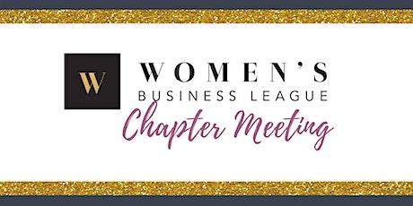 Newburyport, MA Chapter Meeting - Women's Business League tickets