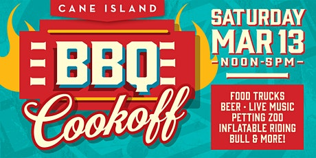 2021 Cane Island BBQ Cookoff COOKING TEAMS ENTRY tickets