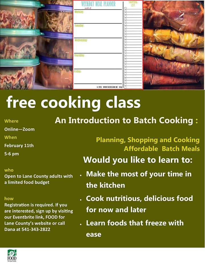 Batch Cooking image