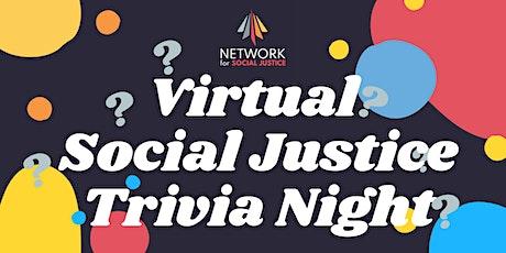 Virtual Social Justice Trivia Night tickets