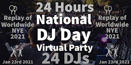 NATIONAL DJ DAY tickets