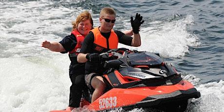Jet Ski ride at the Royal Hobart Regatta 2021 tickets