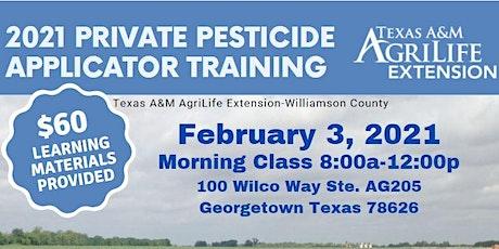 Private Pesticide Applicator Training-AM tickets