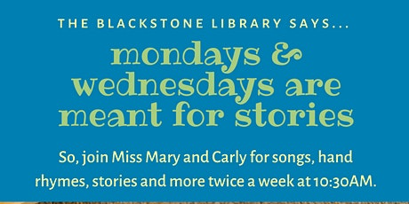 Wednesday Stories LIVE tickets