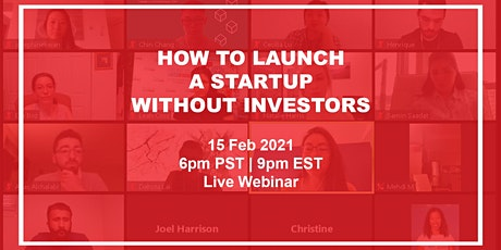 How to launch a startup without investors tickets