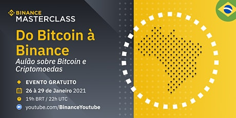 Aulão: Do Bitcoin à Binance ingressos
