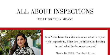 Elevate Educates - All About Inspections tickets