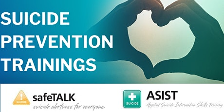 Suicide Prevention Training: ASIST tickets