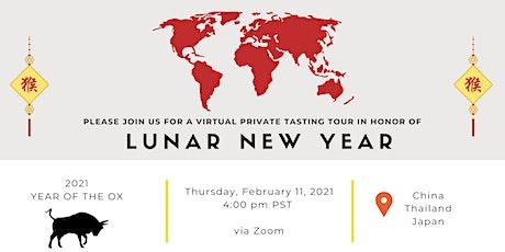 NutriFit Virtual Guided Tasting - Lunar New Year tickets