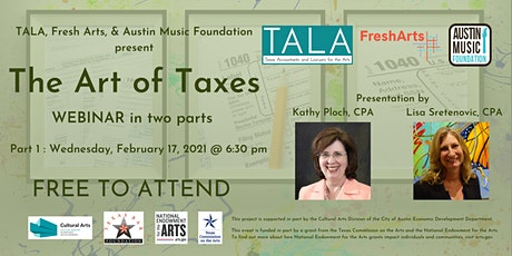 Part 1: The Art of Taxes - Webinar in two parts tickets