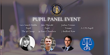 Pupil Panel Event tickets