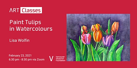 Paint Tulips in Watercolours tickets
