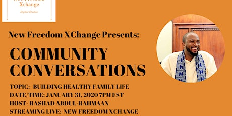 NFX Community Conversation With Rashad Abdul-Rahmaan tickets