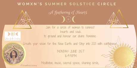 SUMMER SOLSTICE- CIRCLE SANCTUARY IN THE  GATHERING OF HEARTS tickets