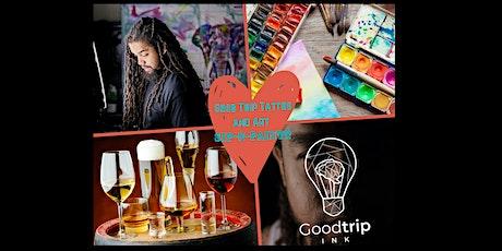 Good Trip Tattoo & Art  Sip 'n Paint tickets